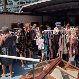 WALK IN WARDROBE July 2018 Canary Wharf