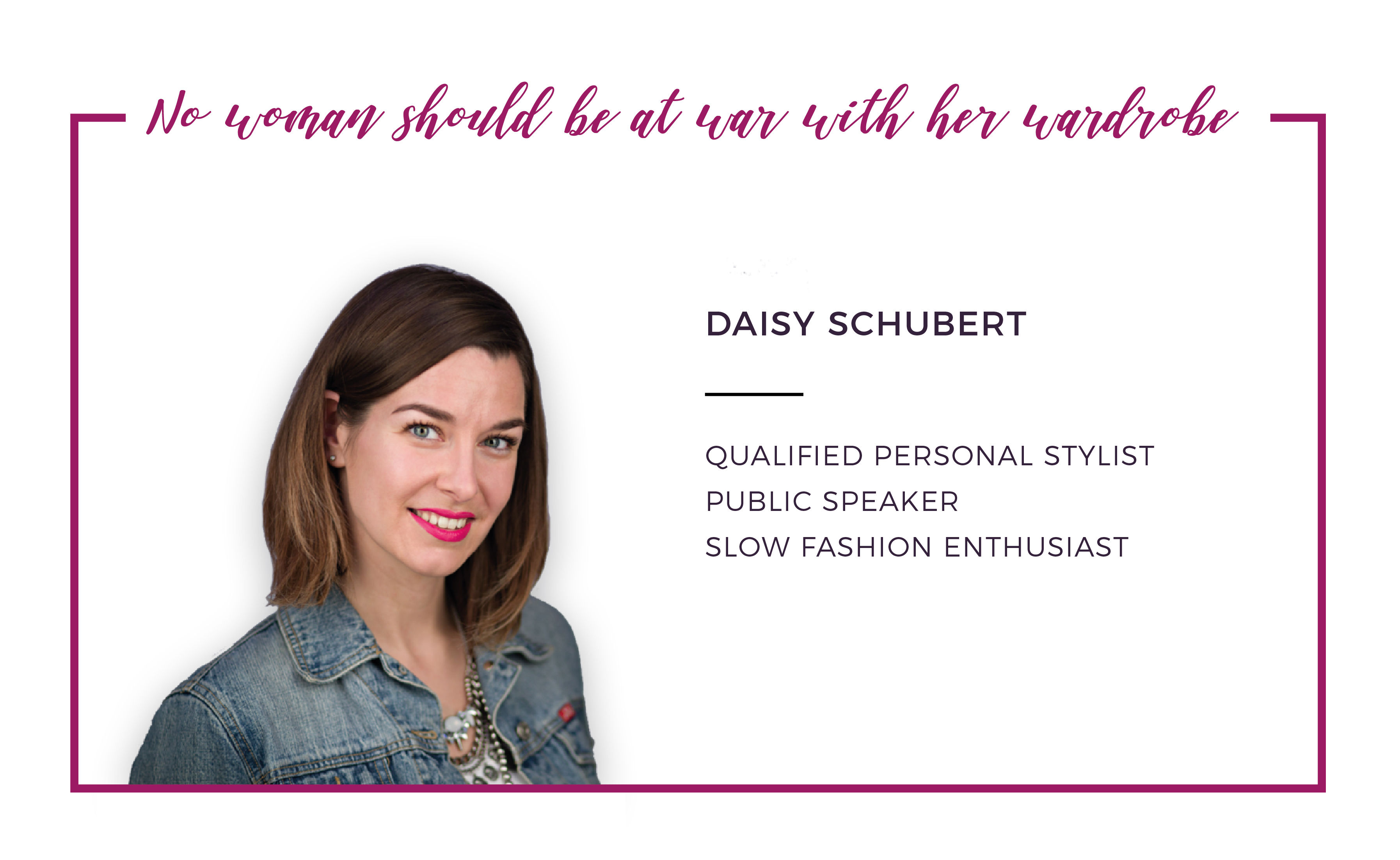 About Daisy Schubert