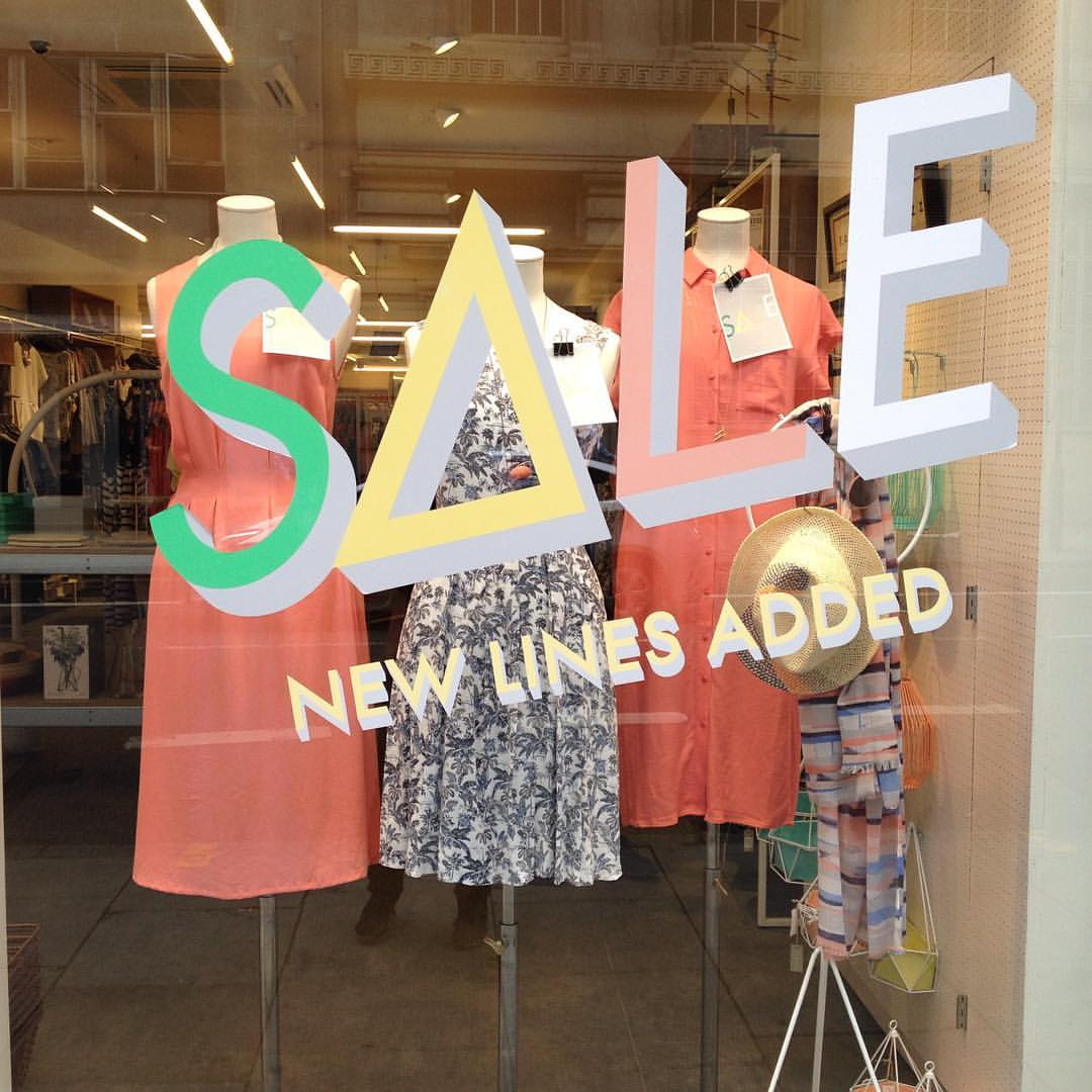 Window Display SALE